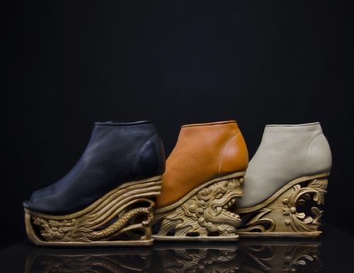 Product Feature FM Dragon Shoes (Orange, Black, Grey) DSC_9810 NN